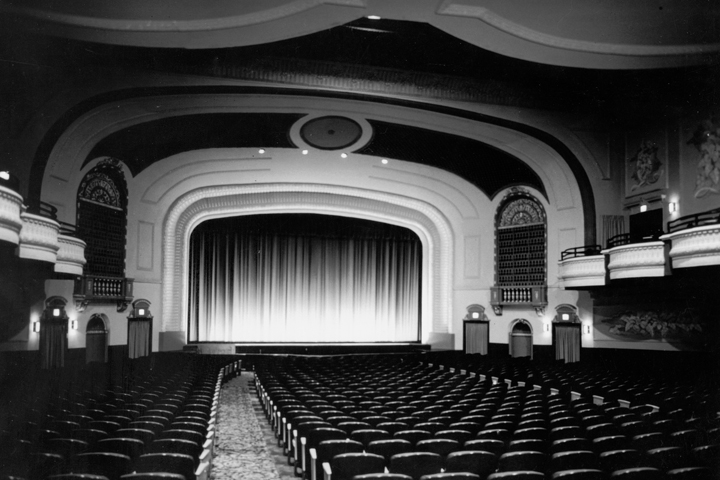 Inside Washington Theater - Quincy, IL