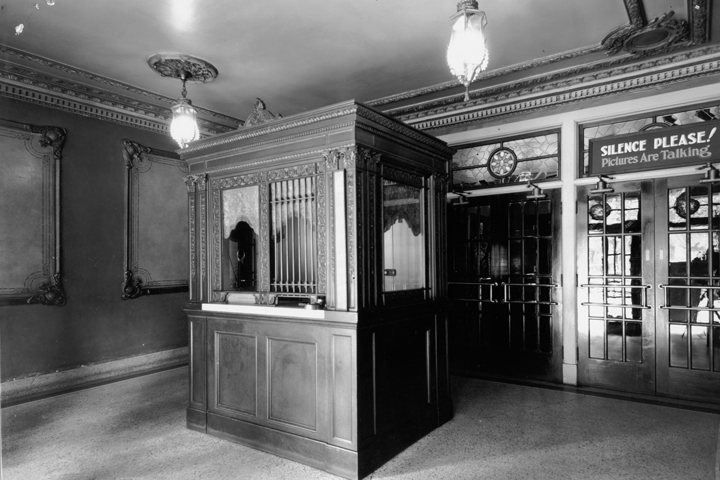 Washington Theater Ticket Booth 1920's - Quincy, IL
